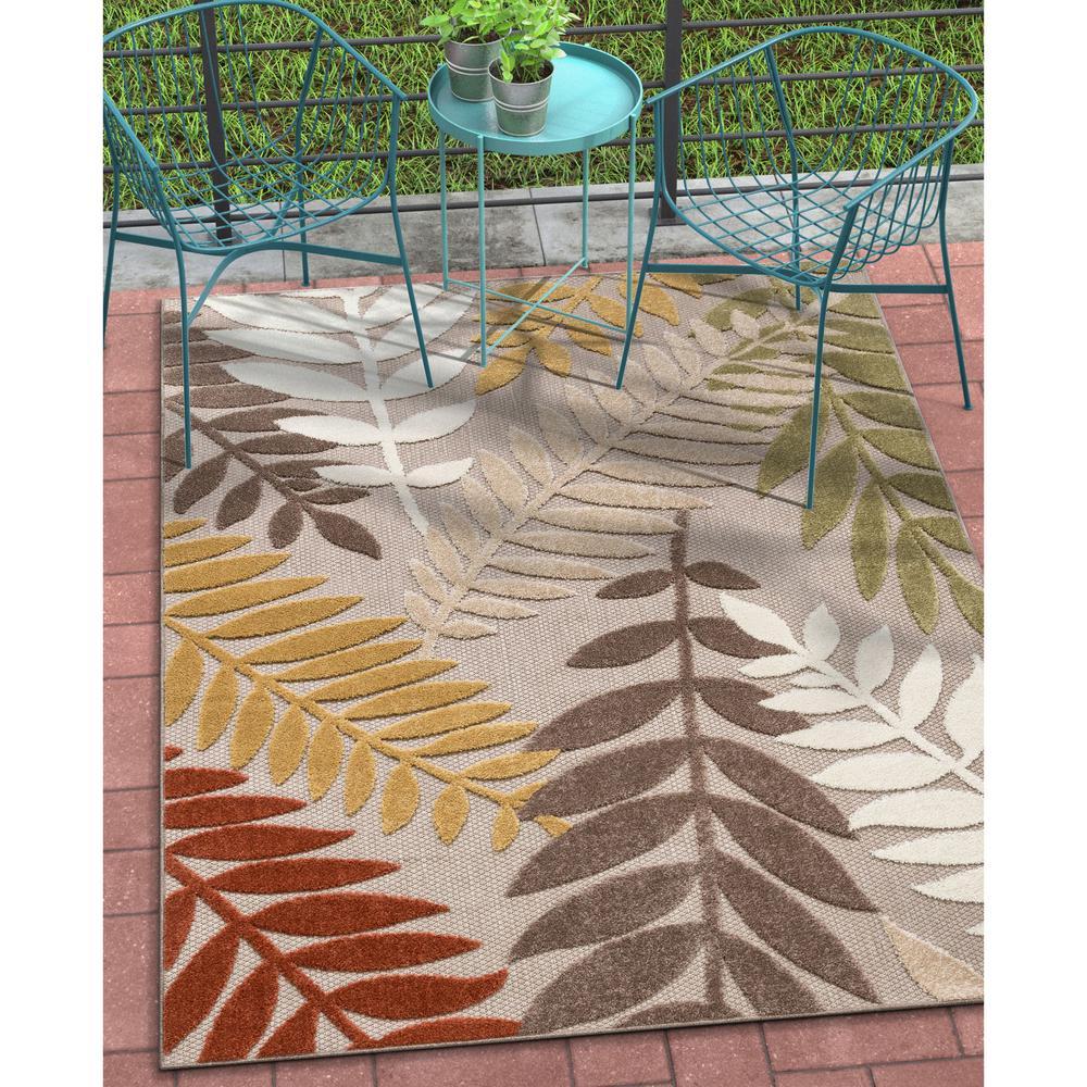 Dorado Mariah Modern Tropical Leaves
