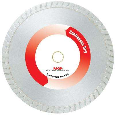 MK-99 7 in. General Purpose Wet Dry Turbo Diamond Saw Blade