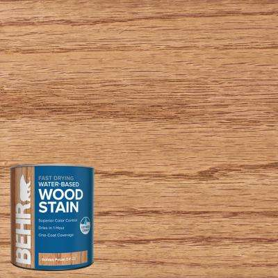 1 qt. #TIS-522 Golden Pecan Transparent Water-Based Fast Drying Interior Wood Stain