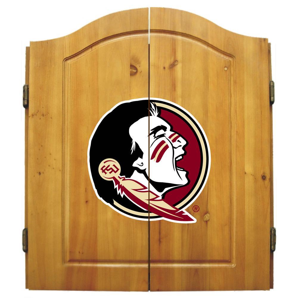 Florida State Dart Cabinet