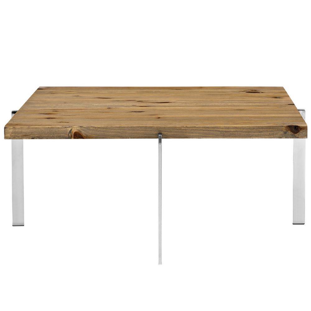 Brown Diverge Wood Coffee Table