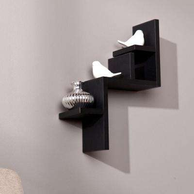 Biddy Decorative Shelf in Black