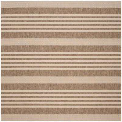 Safavieh - Striped - Square - Outdoor Rugs - Rugs - The Home Depot