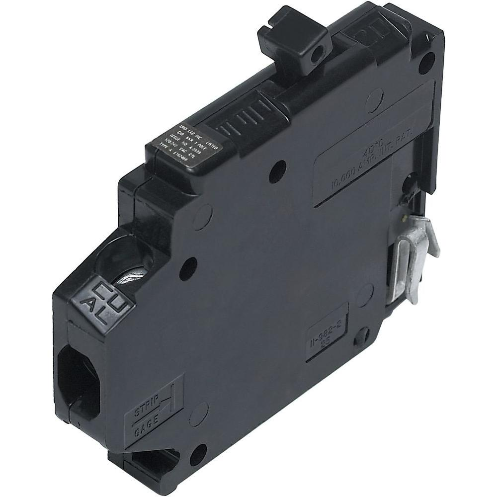 Connecticut Electric New Challenger 20A 1/2 in. 1-Pole Type A Replacement Right Clip Thin Circuit Breaker