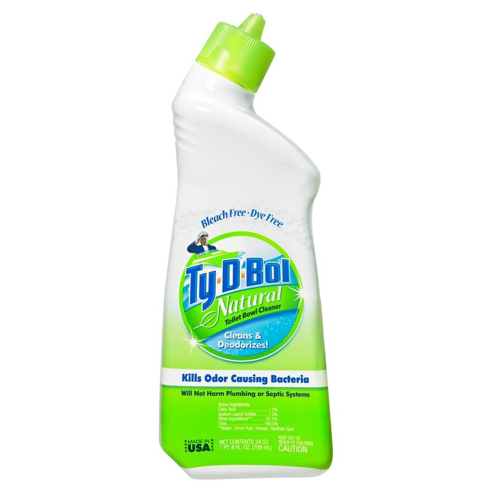 TyDBol Fl Oz Natural Toilet Bowl Cleaner Liquid Pack - Household bathroom cleaners