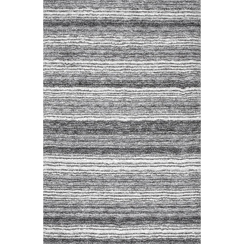 Christmas Area Rugs 8 X 10.Nuloom Classie Striped Shag Gray Multi 8 Ft X 10 Ft Area Rug