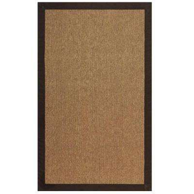 Cove Brown/Natural 7 ft. x 9 ft. Area Rug