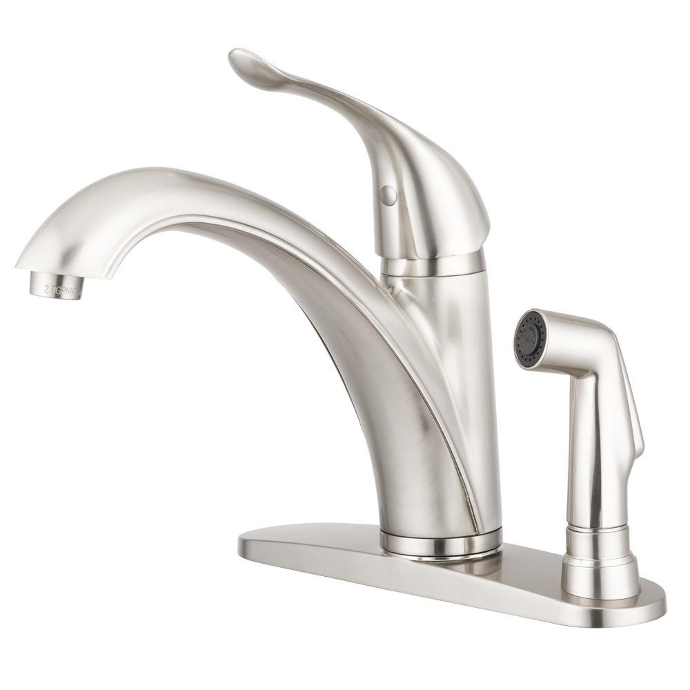 Pacific Bay Medina Single-Handle Standard Kitchen Faucet