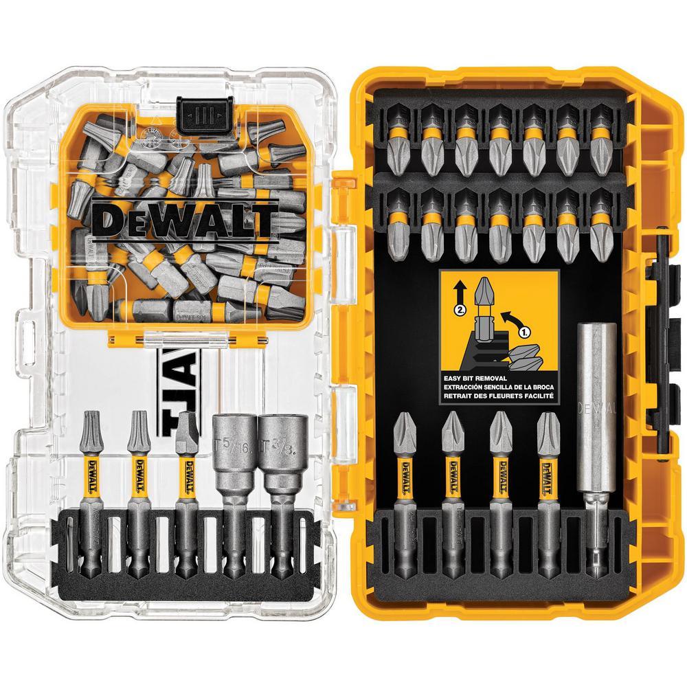 DEWALT MAXFIT Steel Screwdriving Set (55-Piece Set)