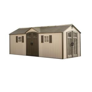 Lifetime 20 ft. x 8 ft. Garden Building Plastic Shed by Lifetime
