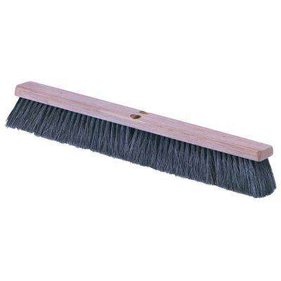 18 in. Fine/Medium Sweep Broom, Tampico Bristle (Case of 12)