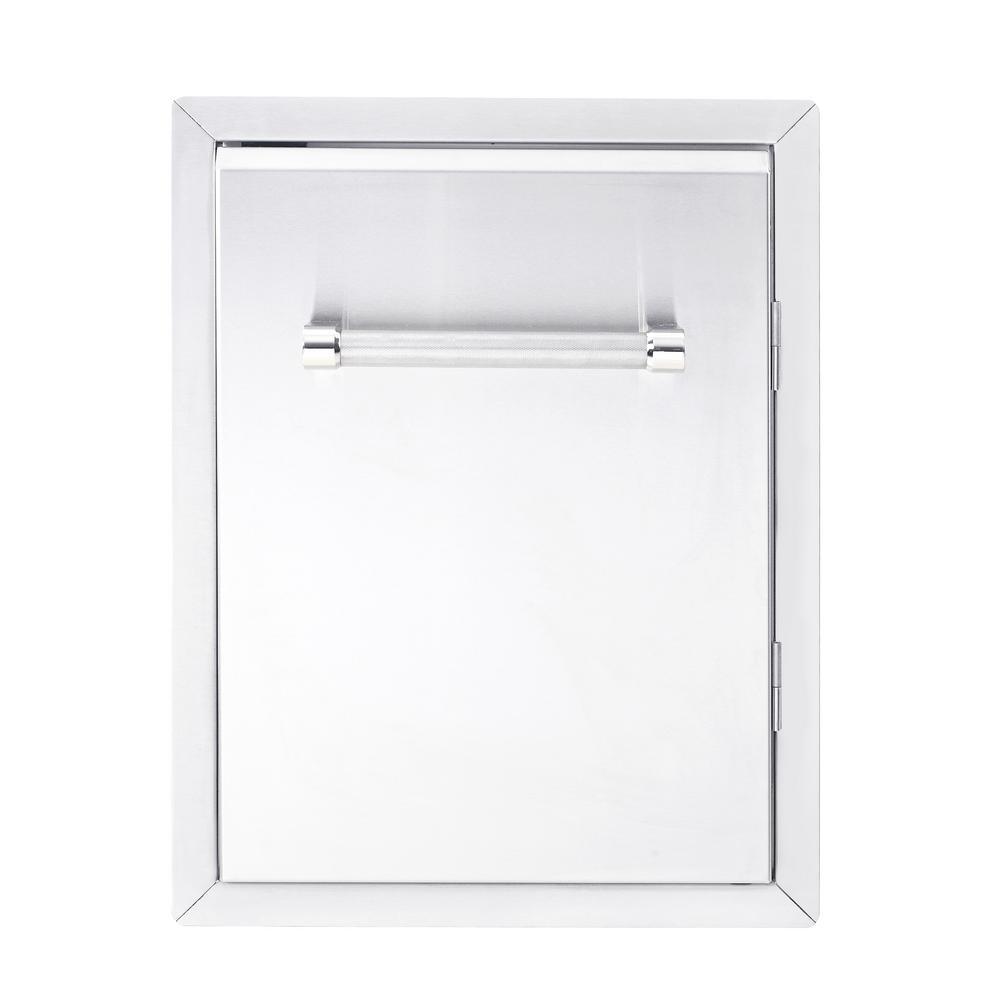 18 in. Outdoor Kitchen Built-In Grill Cabinet Single Access Door