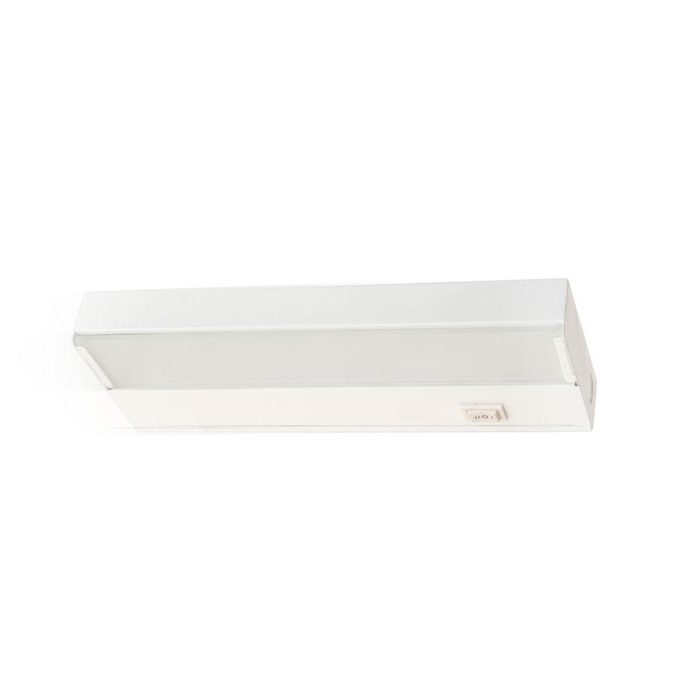 Hampton Bay Led Under Cabinet Light: Nicor Slim 8 In. LED White Dimmable Under Cabinet Light