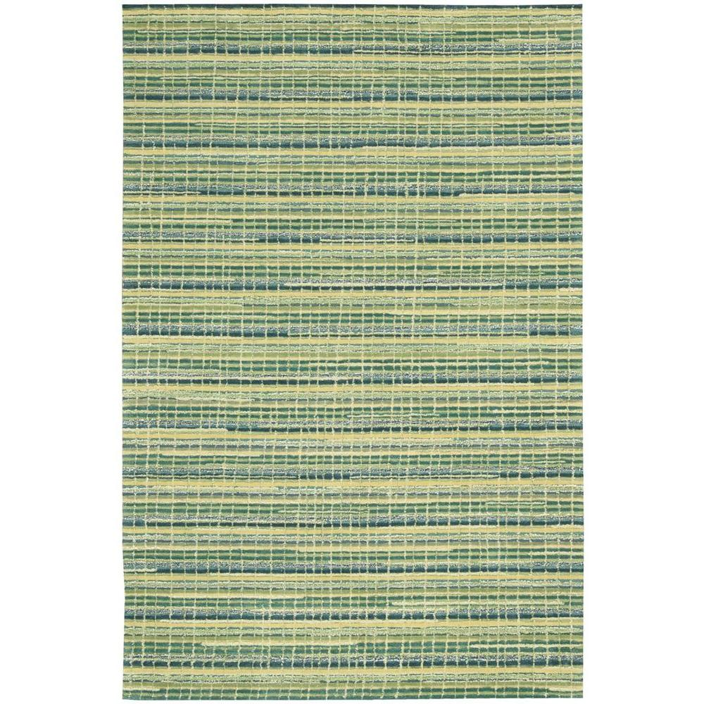 Mulholland Peacock 3 ft. 9 in. x 5 ft. 9 in. Area Rug