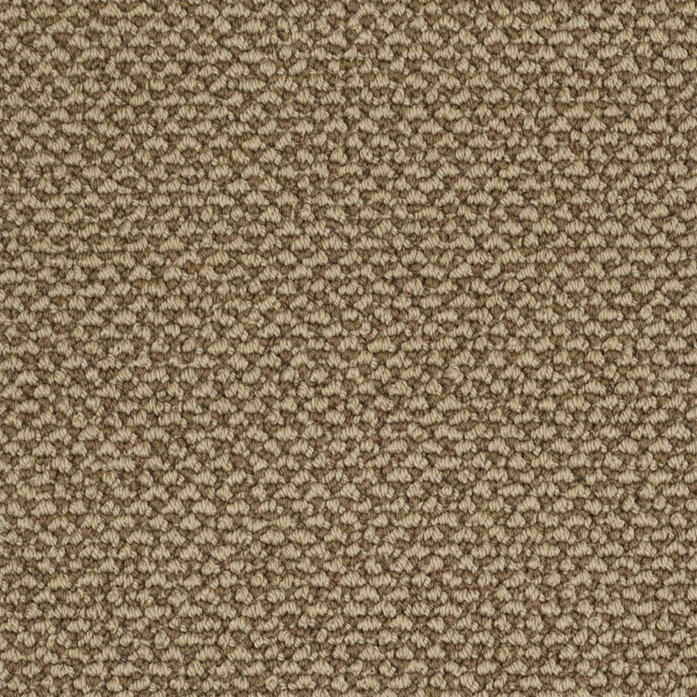 Martha Stewart Living Whitford Bay - Color Clove 6 in. x 9 in. Take Home Carpet Sample