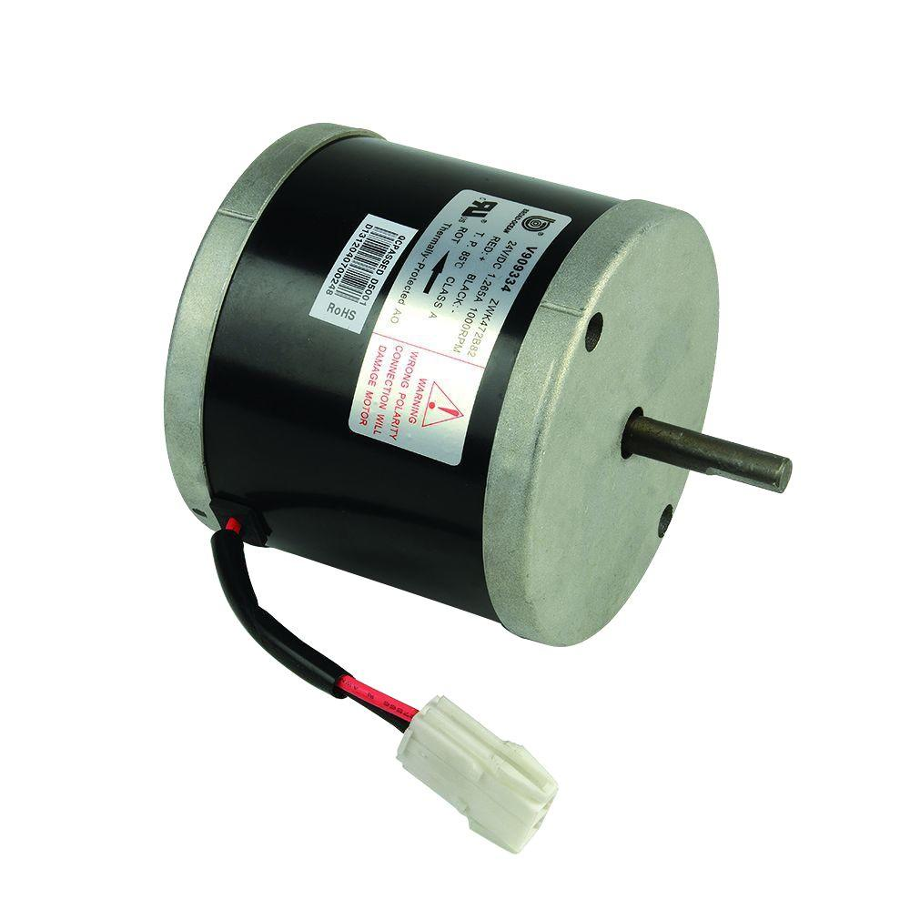 Master Flow 24 VDC Replacement Motor for Solar and Dual-Powered Series Vents  sc 1 st  Home Depot & Master Flow 24 VDC Replacement Motor for Solar and Dual-Powered ...