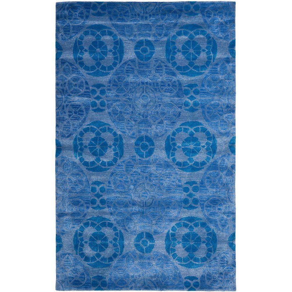 Safavieh Wyndham Blue 5 ft. x 8 ft. Area Rug
