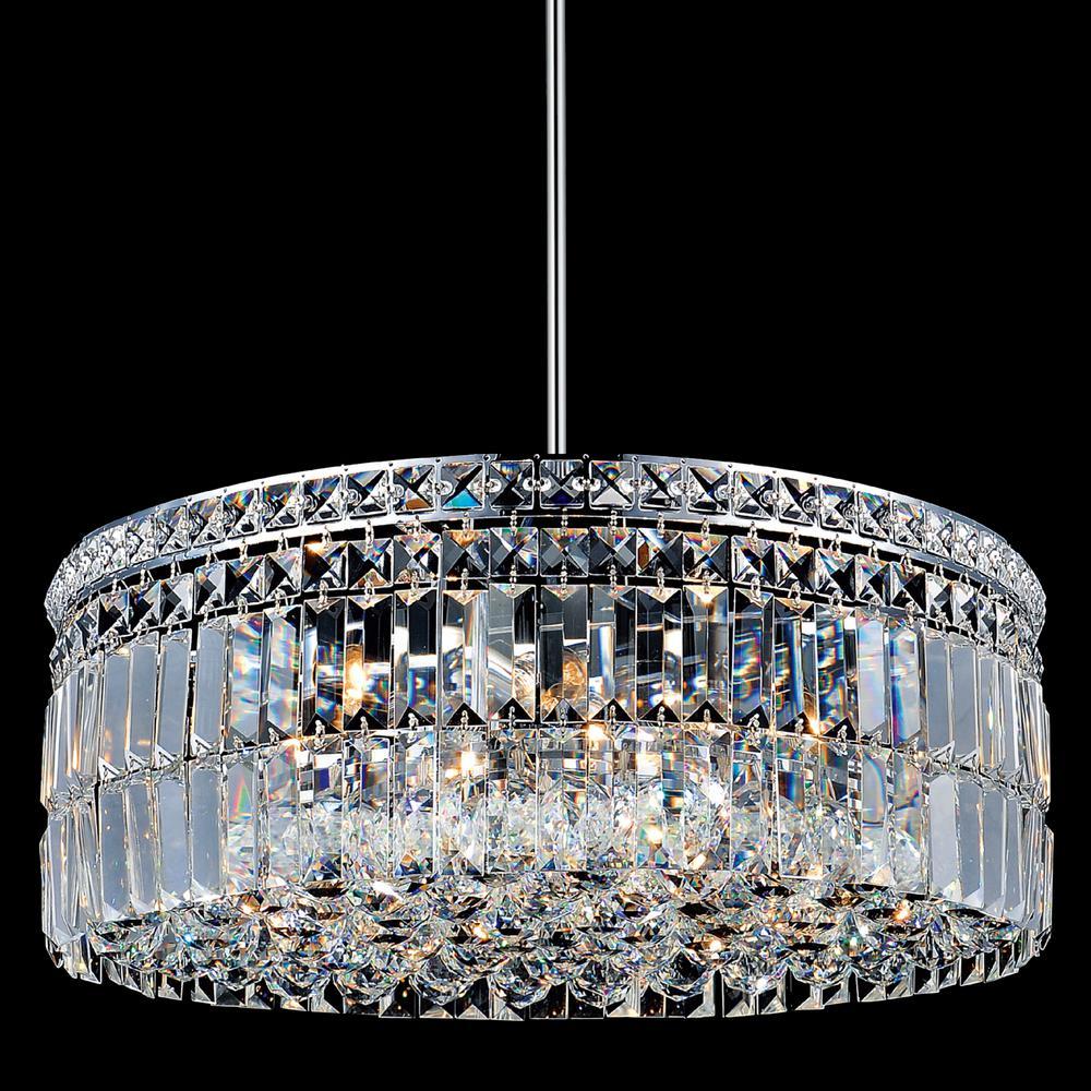 Colosseum 10-light chrome chandelier