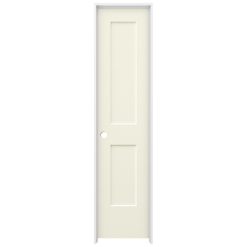 Jeld-Wen 20 in. x 80 in. Monroe Vanilla (White) Painted R...