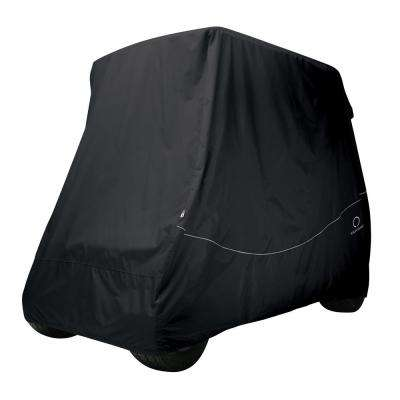 Fairway Long Roof Golf Car Quick-Fit Cover Black