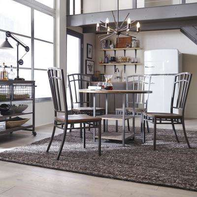 Barnside Metro 5-Piece Gray Dining Set