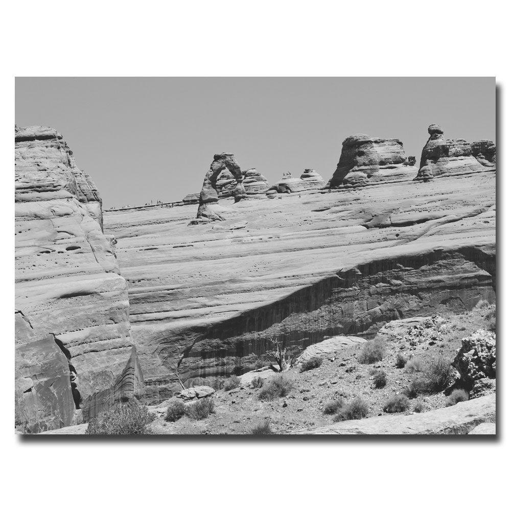 null 22 in. x 32 in. Big Rocks Canvas Art