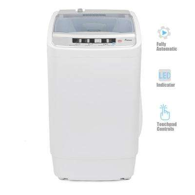 1.05 cu. ft. Compact Top Load Automatic Washer in White with Spin Tub