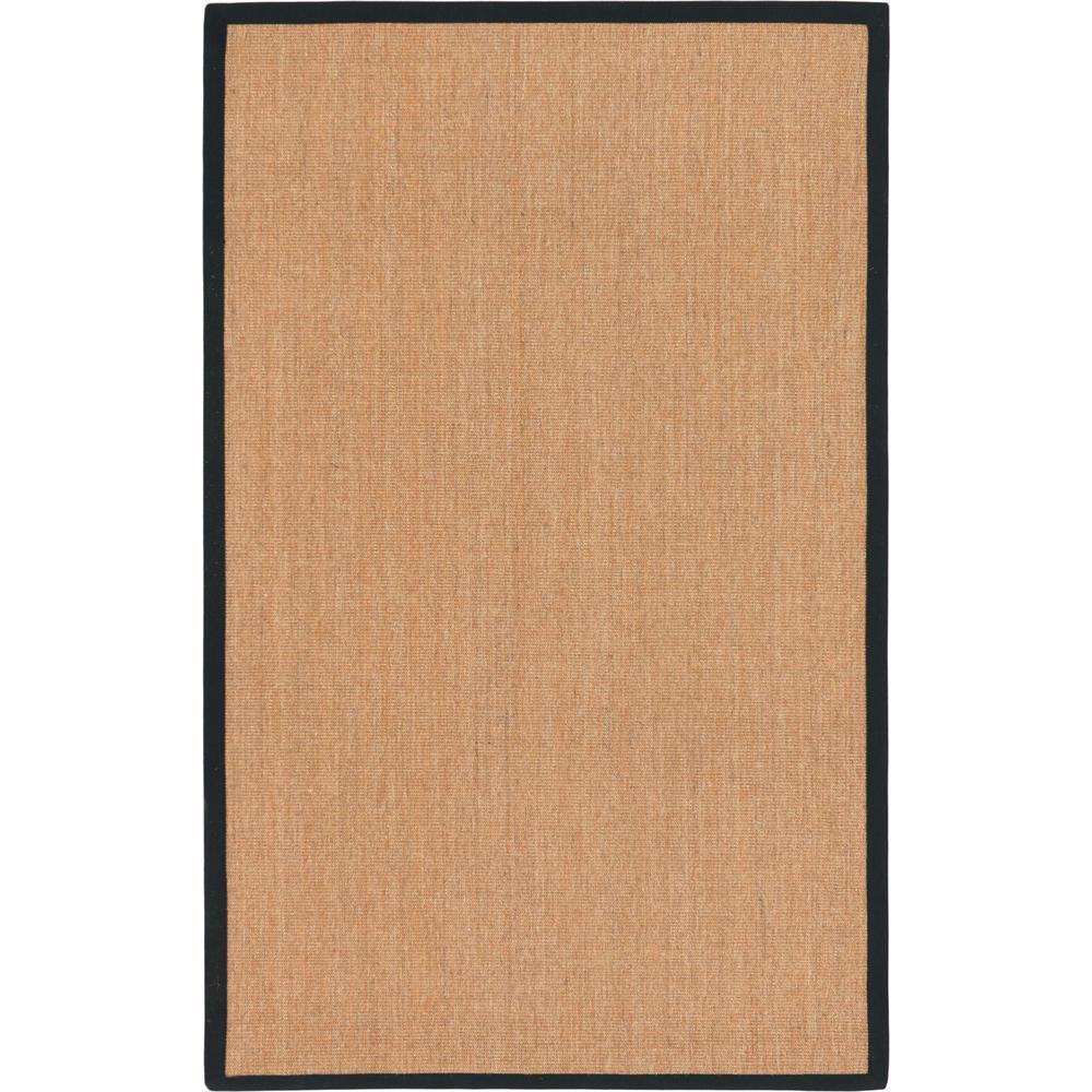 Sisal Light Brown 5' x 8' Rug