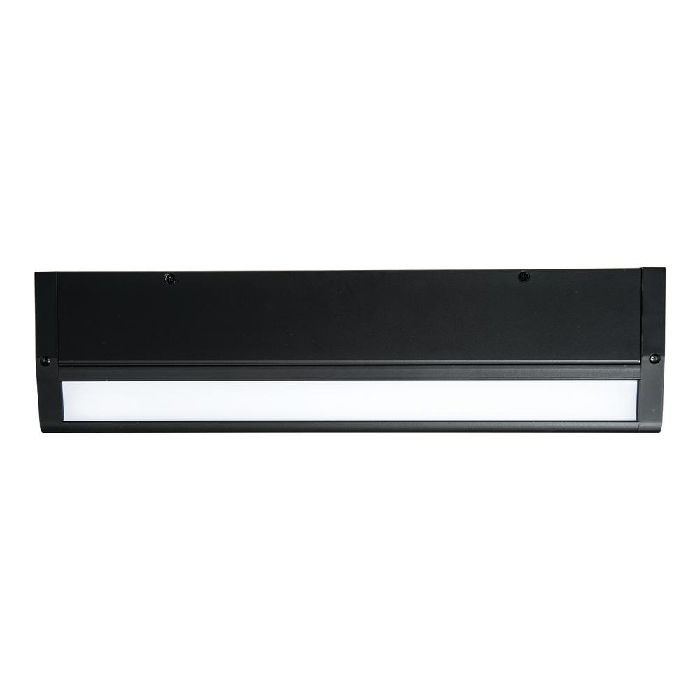 Halo 18 in. Matte Black LED Dimmable Under Cabinet Light