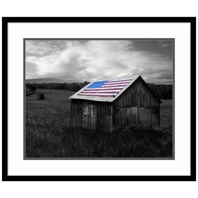 Flags of Our Farmers XII by James McLoughlin Framed Print Wall Art