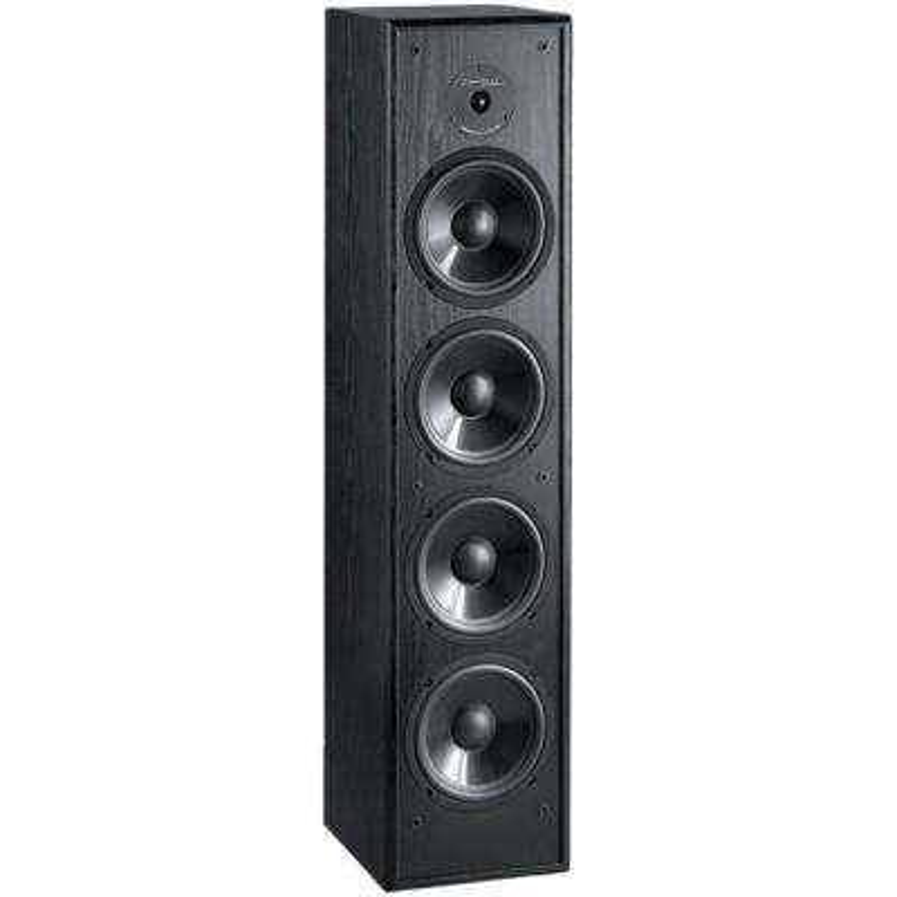 200-Watt 2-Way 6.5 in. Slim-Design Tower Speaker for Home Theater and Music