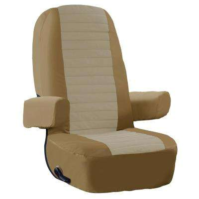 Overdrive 24 in. L x 24 in. W x 9 in. D RV Captain's Seat Cover