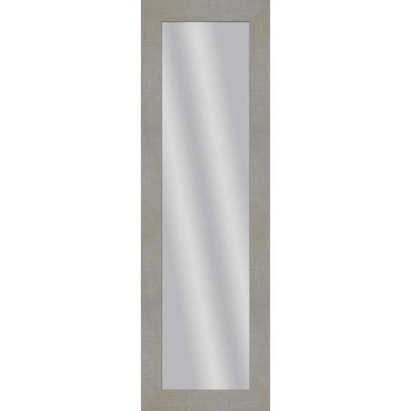 Large Rectangle Crude Art Deco Mirror (53.5 in. H x 17.5 in. W)
