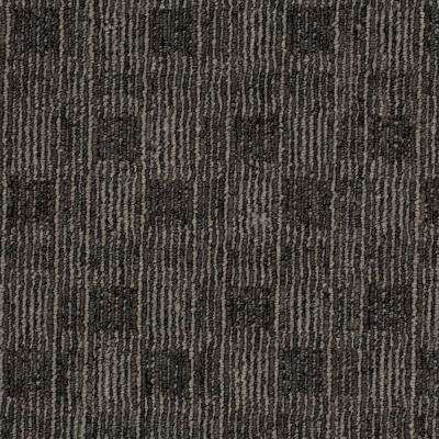 8 in. x 8 in. Textured Carpet Sample - Claymont - Color Ash