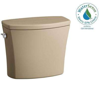 Kelston 1.28 GPF Toilet Tank Only with AquaPiston Flushing Technology in Mexican Sand