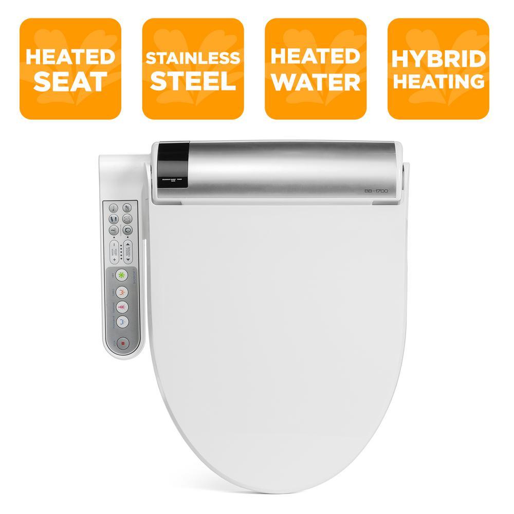 Stupendous Biobidet Advanced Bliss Electric Bidet Seat For Elongated Toilets In White Short Links Chair Design For Home Short Linksinfo
