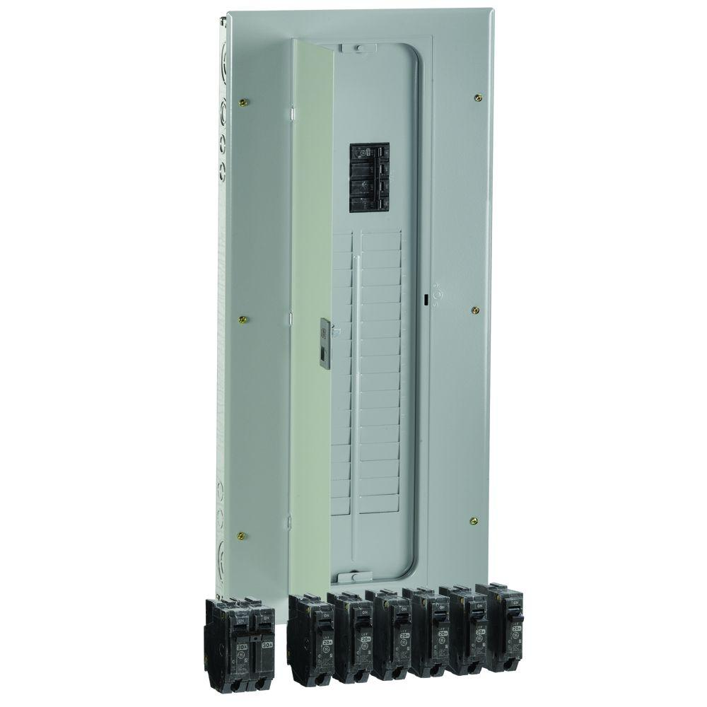 Square D QO 200 Amp 2-Pole Outdoor Circuit Breaker Enclosure with ...