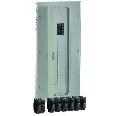 PowerMark Gold 200 AMP 32-Space 40-Circuit Indoor Main Breaker Value Kit Includes Select Circuit Breakers