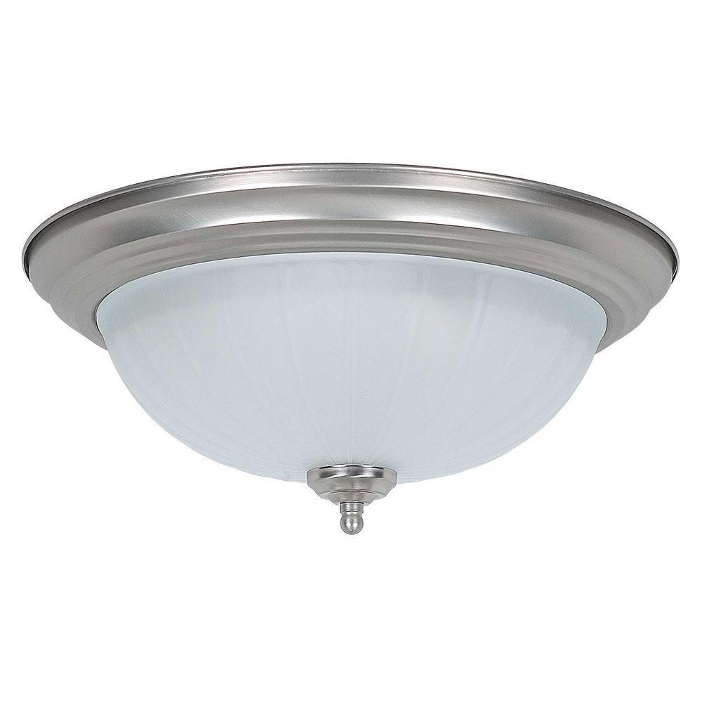 Luminance - Flush Mount Lights - Lighting - The Home Depot