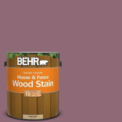 1 gal. #S120-6 Full Glass Solid Color House and Fence Exterior Wood Stain