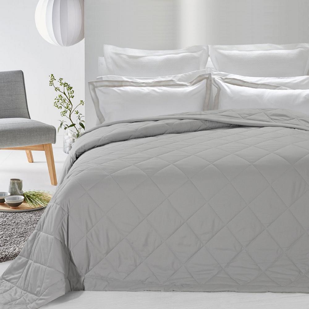Never Down Light Grey Alternative Blanket