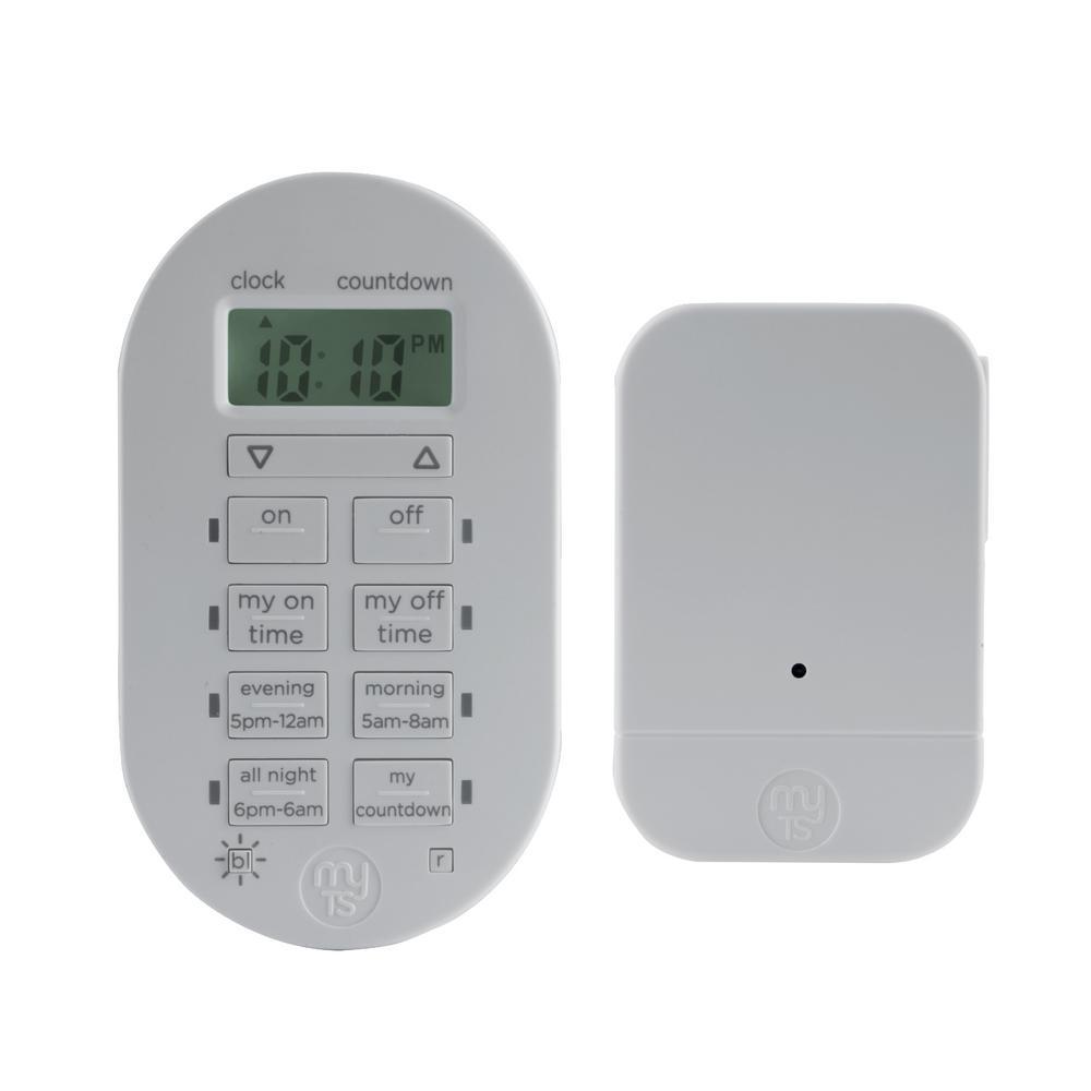 Mytouchsmart Simple Set 2 On Off Indoor Wireless Timer