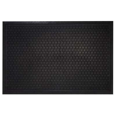 Maze Durable Anti Fatigue 24 in. x 36 in. Commercial Rubber Scraper Floor Runner Mat