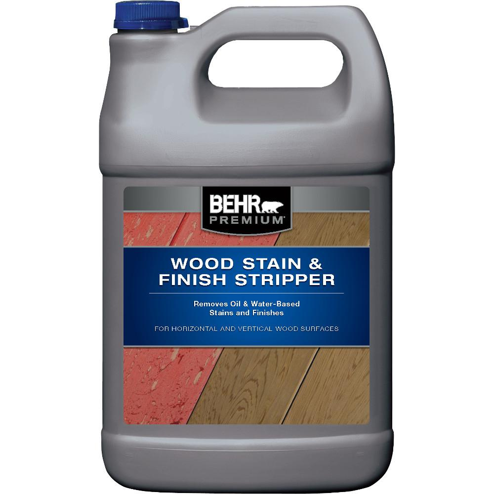 BEHR Premium 1-gal. Wood Stain and Finish Stripper
