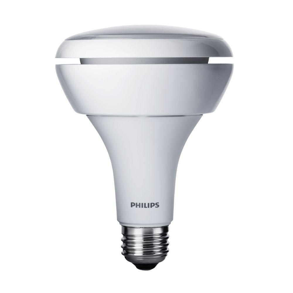 Philips 65W Equivalent Soft White BR30 Dimmable Warm Glow