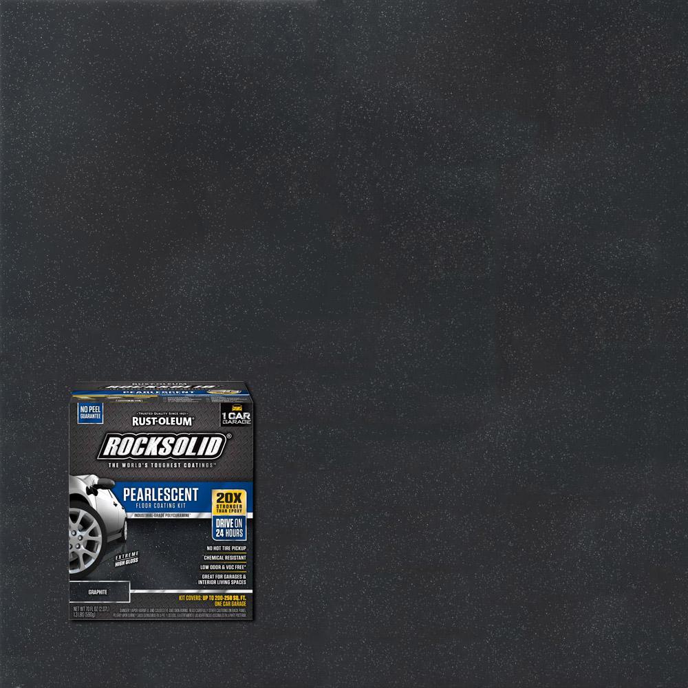 76 oz. Pearlescent Graphite Garage Floor Kit