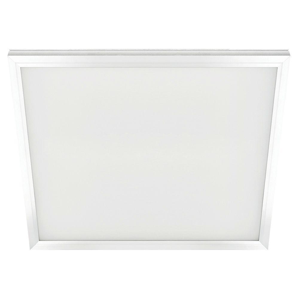 2 ft. x 2 ft. 47-Watt White Integrated LED Edge-Lit Flat