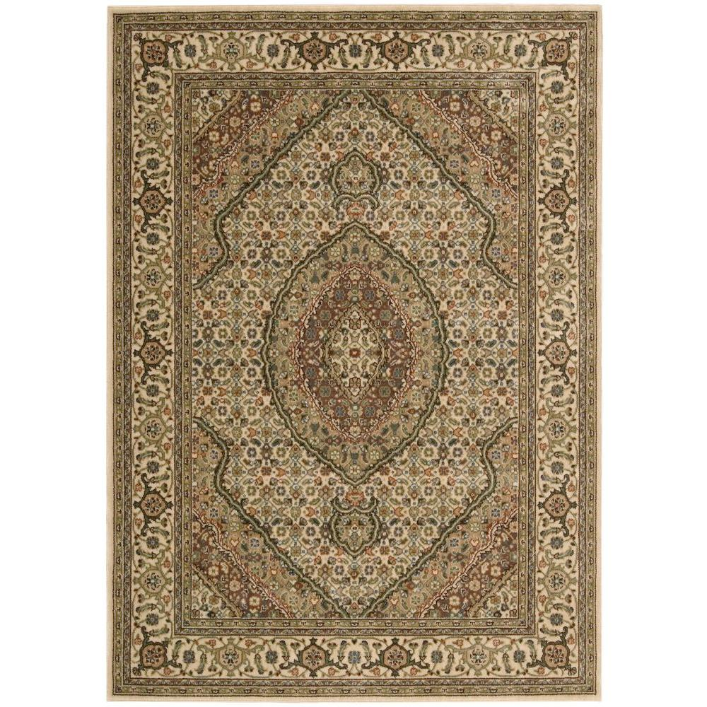 Nourison Persian Arts Parthian Ivory 2 ft. x 3 ft. 6 in. Accent Rug