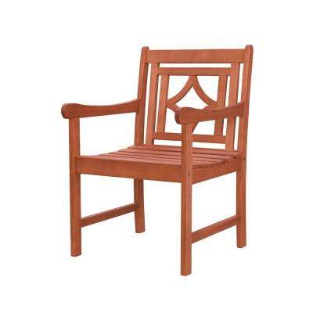 Malibu Classic Wood Outdoor Dining Chair
