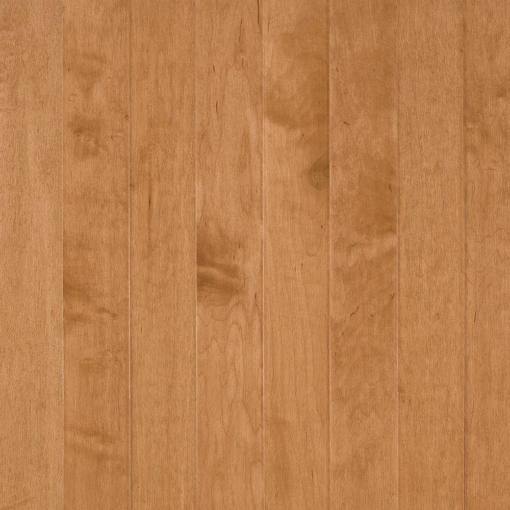 Bruce Town Hall Plank 3/8 in. Thick x 5 in. Wide x Random Length Maple Caramel Engineered Hardwood Flooring (25 sq. ft. /case)